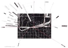 Rail Networks - James Corner/ Alex MacLean, Taking Measures Across the American Landscape, 1996