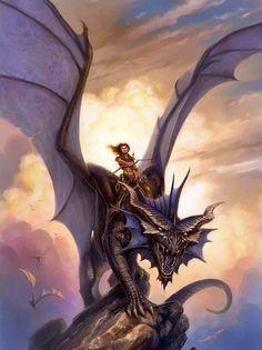 Dragonrider by Todd Lockwood