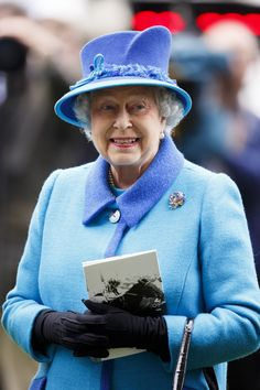 Queen Elizabeth II attends the BQIPCO British Champions Day 2014 at Ascot Racecourse on October 18, 2014 in Ascot, England.