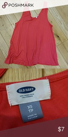Old Navy tank/blouse EUC Old Navy tank/blouse. No stains, tears, or wear. Wore twice, washed per instructions, hang dried. Smoke and pet free home. Old Navy Tops Tank Tops