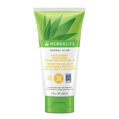 Herbal Aloe Face & Body Sunscreen Broad Spectrum