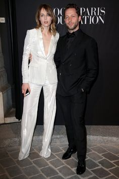 Pin for Later: Le Troisième Gala de la Vogue Paris Foundation Attire les Plus Grands Noms de la Mode Edie Campbell et Derek Blasberg
