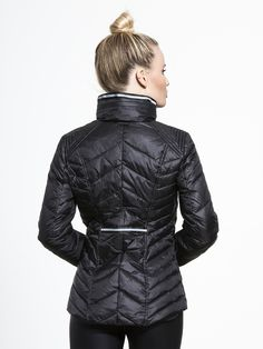 Puffer Jacket with ReflectiveTrim by BLANC NOIR in Black The best street style activewear so can go from day to night. Stylish athletic clothing ♡ athleisure outfit ♡ yoga apparel ♡ Pilates outfit ♡ women's workout clothes ♡ sportswear ♡ Athletic Wear ♡ Women's Exercise Clothing ♡ Fitness Apparel ♡ Yoga Top ♡ Sports Bra ♡ Yoga Pants ♡ leggings ♡ Gym gear