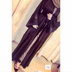Image of Zaynah Embroidered Abaya Pre-order