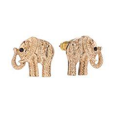 LC Lauren Conrad Elephant Stud Earrings #Kohls