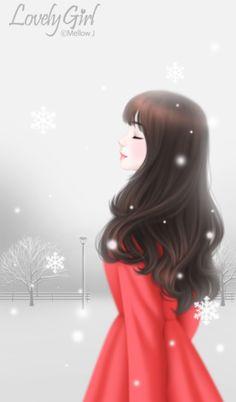 Enakei y girl wallpaper, cute illustration, korean illustration, kawaii girl, art girl Korean Illustration, Illustration Girl, Lovely Girl Image, Girls Image, Anime Art Girl, Manga Girl, Tumblr Gril, Anime Korea, Chica Cool