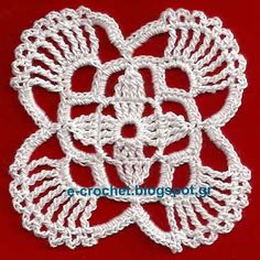 Classic motif 3 - seamless crochet