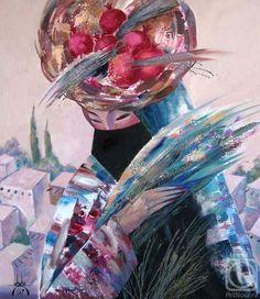 Kagarov MEDAT.  Al regresar de las montañas Russian Art, Art Gallery, Artist, Artwork, Anime, Painting, Art Museum, Work Of Art, Fine Art Gallery