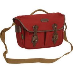 Billingham Hadley Pro Special Edition Shoulder Bag (Burgundy Canvas & Chocolate Leather)
