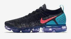 Release Date: Nike Air VaporMax 2.0 Black Hot Punch • KicksOnFire.com