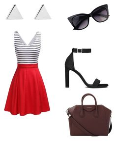 """Through the Streets"" by toriwright70 on Polyvore featuring Jennifer Meyer Jewelry, Yves Saint Laurent and Givenchy"
