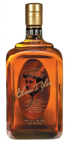 Elmer T Lee Single Barrel Sour Mash Kentucky Straight Bourbon Whiskey Good Whiskey, Cigars And Whiskey, Scotch Whiskey, Bourbon Whiskey, Irish Whiskey, Tequila, Vodka, Rum, Root Beer