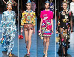 Dolce & Gabbana Spring/Summer 2016 Collection  #DolceGabbana #runway #MFW
