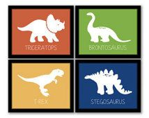 Dinosaur Decor | DINOSAUR Dino Rawr Quote Custom Personalized BOY Name  Monogram Initial ... | Room Ideas | Pinterest | Initials, Monograms And Room
