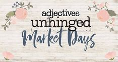 Were celebrating BIG this year and going outside for FIVE different MARKET DAYS in 2018. Get ready to discover original artists vintage and handmade furniture antiques clothing jewelry handmade treasures home décor outdoor furnishings tasty treats garden decor holiday décor and a little more. . .MARK YOUR 2018 CALENDARS: 2/10 4/21 6/30 9/1 11/24