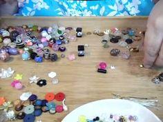 Dollhouse Miniature Perfume Bottles - YouTube