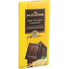 Perugina Chocolate Bar Dark Chocolate Limoncello 3.5 Oz Bars Case Of 12
