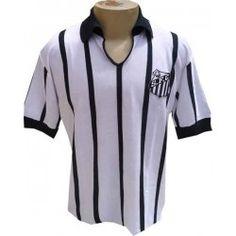 Camisa retrô santos 1963