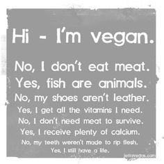 I'm #Vegetarian and I have to deal with the same sh*t!!