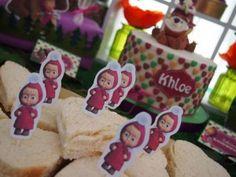 Festa a tema Masha e Orso_sandwich