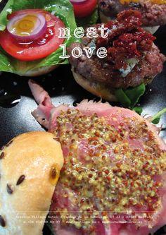 meat love | mini hamburguesas: ¡gorgonzola, bourbon y roast-beef! ¡la elección perfecta para compartir!
