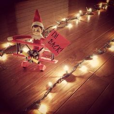 Elf on the shelf idea. Next Year! Elf on the shelf idea. Next Year! Elf on the shelf idea. Next Year! Elf on the shelf idea. Next Year! Noel Christmas, Christmas Holidays, Christmas Crafts, Christmas Ideas, Christmas Decorations, Magical Christmas, Christmas Stuff, Christmas Humor, Elf On The Shelf