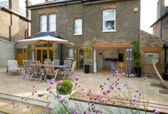 Sydenham side extension and renovation to open up a kitchen. http://www.architect-yourhome.com/