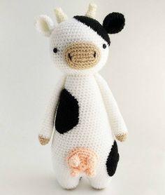 Cow amigurumi pattern #littlebearcrochets #amigurumi #crochet #diy
