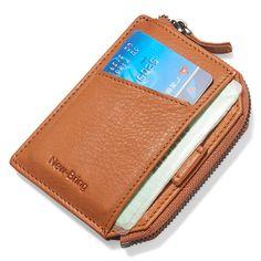 Leather Men, Leather Wallet, Rfid Wallet, Minimalist Fashion, Money Clip, Card Holder, Bring It On, Zipper, Money Clips
