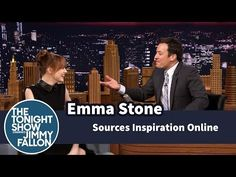 ▶ Emma Stone Sources Inspiration Online - YouTube