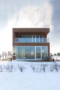 IJburg Villa by Marc Prosman Architecten I Like Architecture
