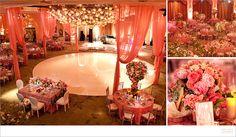 Wedding reception Marianne Lozano Photography :: Beverly Hills Hotel tic-tock Couture Florals  #BridalMavenContest
