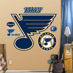 St. Louis Blues Logo would be great in a childs room or a man cave