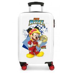 Troler calatorie copii ABS 55 cm 4 roti Disney Mickey Mouse Joy NEW 2019 Disney Mickey Mouse, Disney Luggage, Toys For Boys, Abs, Suitcases, Disney Stuff, Messi, Accessories, Toddler Girls