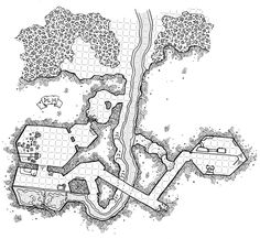 [Tuesday Map] Cragmaw Hideout in the Coolant Processing Facility
