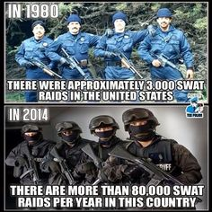 Rise of the police state racially motivated..the term, racist, was 'coined' by Leon Trotsky, communist executed by Stalin in Mexico where he sought asylum