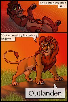 Kiara y kovu, parte 39 Lion King 4, Lion King Fan Art, Disney Lion King, King Art, Lion King Story, Lion King Pictures, Le Roi Lion, Death Note, Live Action