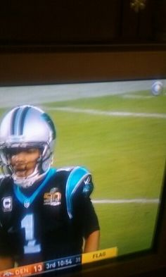 Nc Panthers, Football Helmets
