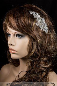 CRYSTAL FLOWER CLUSTER BRIDAL HAIR COMB | VINTAGE WEDDING HAIR COMB | BELOVED SPARKLES – BRIDAL HAIR COMB GEORGIA » Beloved Sparkles | Bridal Wedding Hair Accessories | Cubic Zirconia Jewelry