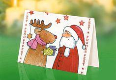 Mit dieser Weihnachtskarte flattern ganz persönliche Adventsgrüße in den Briefkasten Ihrer Liebsten. Wir zeigen Ihnen, wie Sie die Weihnachtskarte basteln. © Christophorus Verlag GmbH & Co. KG