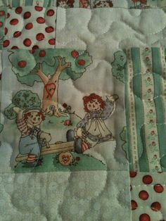 Raggedy Ann & Andy Bring Their Charm To by WrappingYouInWarmth, $58.00