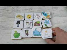 Story stones set 1 - YouTube Story Stones, Coasters, Children, Youtube, Ideas, Young Children, Boys, Coaster, Kids