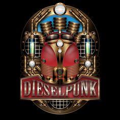 Dieselpunk (Como el steampunk pero con combustión interna)