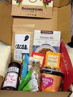 October Goodnessme Box