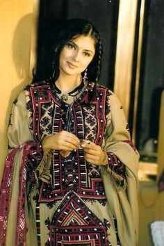 Some Balochi Traditional Dress, Culture Balochi Dress, Dress Outfits, Costume Dress, Traditional Fashion, Traditional Dresses, Balochi Girls, Ethnic Fashion, Womens Fashion, Fashion Trends