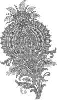 Gallery.ru / Фото #100 - Embroidery II - GWD Irish Crochet, Crochet Motif, Crewel Embroidery, Embroidery Patterns, Destiny Ii, Hamsa Design, Pattern Art, Art Patterns, Tambour