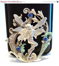 Goddess Fairy JJ pin brooch #etsy $28.80