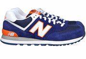 Blauwe New Balance schoenen 574 sneakers