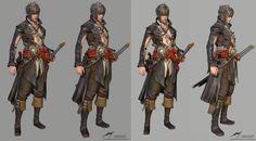 ArtStation - 3d character, pirate , Jaeuk Lee