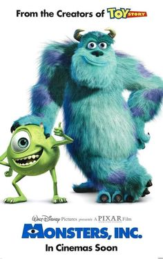 Monsters, Inc., is always good for a reminder that laughter is powerful. #MonstersInc #kidsmovies